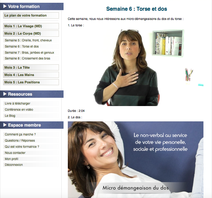 module e-learning communication non verbale